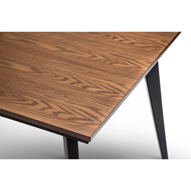 Scandinavian Wooden Dining Table Dark Walnut 1500mm Buy  : 41 05304 from www.mydeal.com.au size 800 x 800 jpeg 114kB