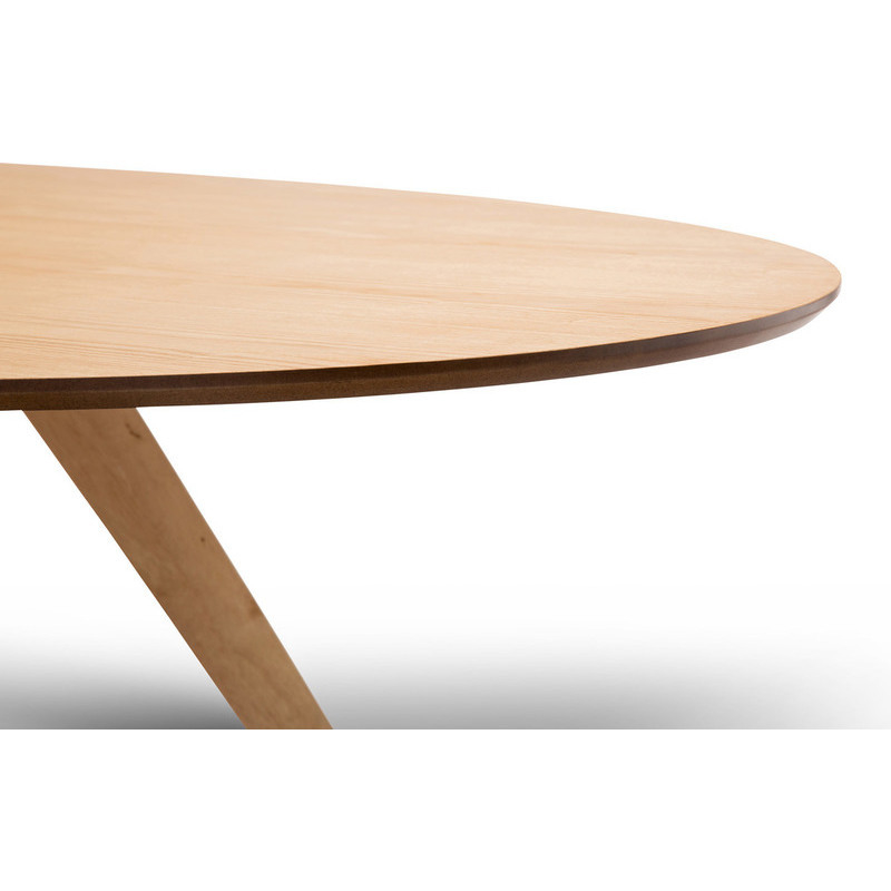 Scandinavian Oval Wooden Dining Table in Oak 1800mm Buy  : 41 05403 from www.mydeal.com.au size 800 x 800 jpeg 96kB