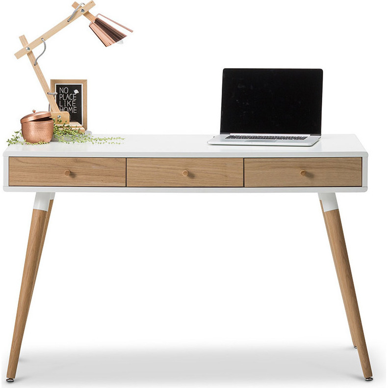 Scandinavian 3 Drawer Home Office Desk White 120cm Buy  : 702 03502 from www.mydeal.com.au size 791 x 791 jpeg 111kB