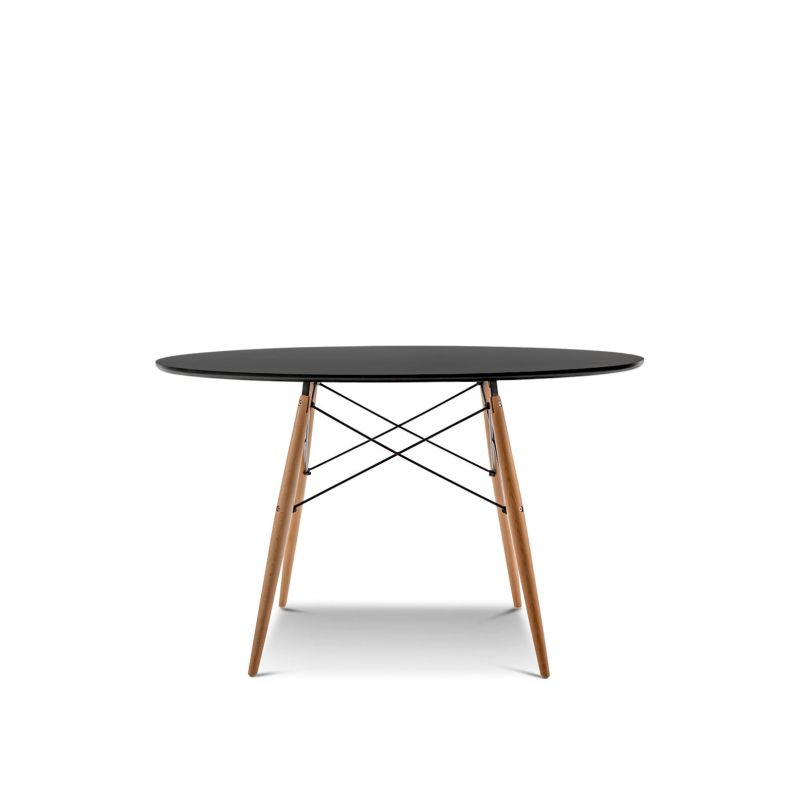 Eames DSW Large Round Dining Table Replica in Black Buy  : 701 02101 from www.mydeal.com.au size 800 x 800 jpeg 76kB