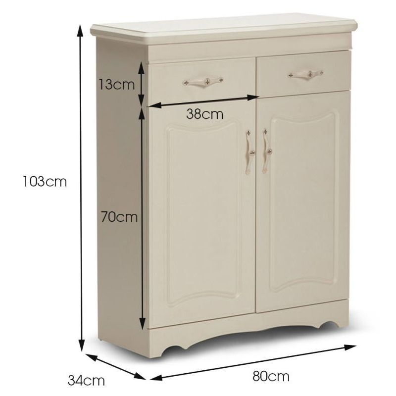 French Provincial Shoe Cabinet W 2 Doors 2 Drawers Buy