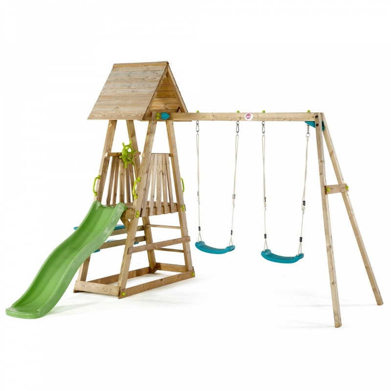 Plum Kids Outdoor Play Equipment w/ Swings Slide | Buy Outdoor Playsets