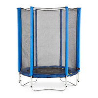 Plum 4.5ft Kids Trampoline with Enclosure in Blue