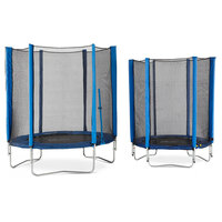 Kahuna 6ft Trampoline With Net Enclosure In Orange Buy