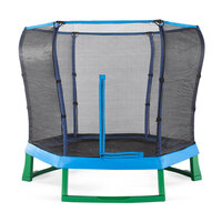 7ft Plum Toddler Kids Spring Trampoline with Net