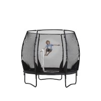Plum 8ft Premium Spring Trampoline with Enclosure