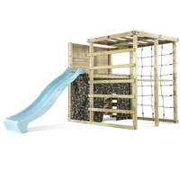 Plum Play Wooden Climbing Frame Jungle Gym w/ Slide