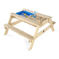 Plum Kids Wooden Picnic Table with Sand and Water