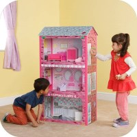 Plum Kids Beauty Spa Vet Dollhouse with Accessories