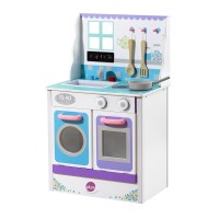 Plum Kids Chive Cook-A-Lot Play Kitchen Blue White