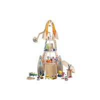 25 Piece Super Space Rocket Wooden Kid's Play Set