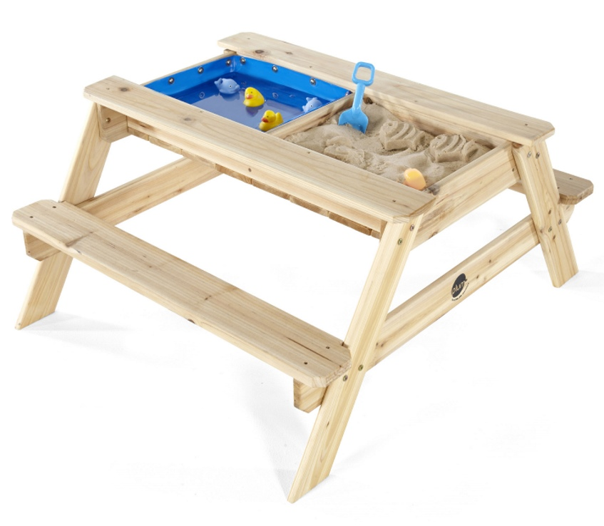 Plum Kids Wooden Picnic Table With Sand And Water Buy Kids Picnic