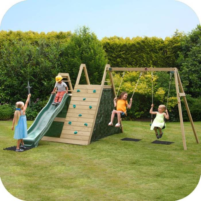 plum kids swing slide climb wooden playground buy outdoor playsets. Black Bedroom Furniture Sets. Home Design Ideas