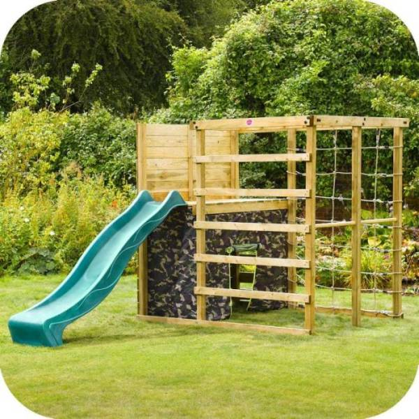Plum Play Wooden Climbing Frame Jungle Gym W Slide Buy