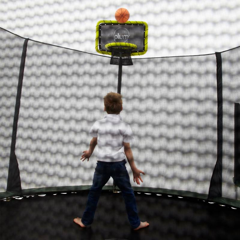 Trampoline Parts Plum: Plum Trampoline Basketball Net Accessory Kit