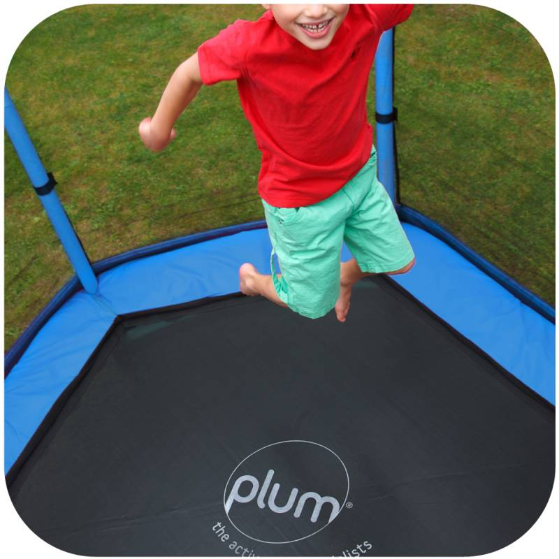 Trampoline Parts Plum: 7ft Plum Toddler Kids Spring Trampoline With Net