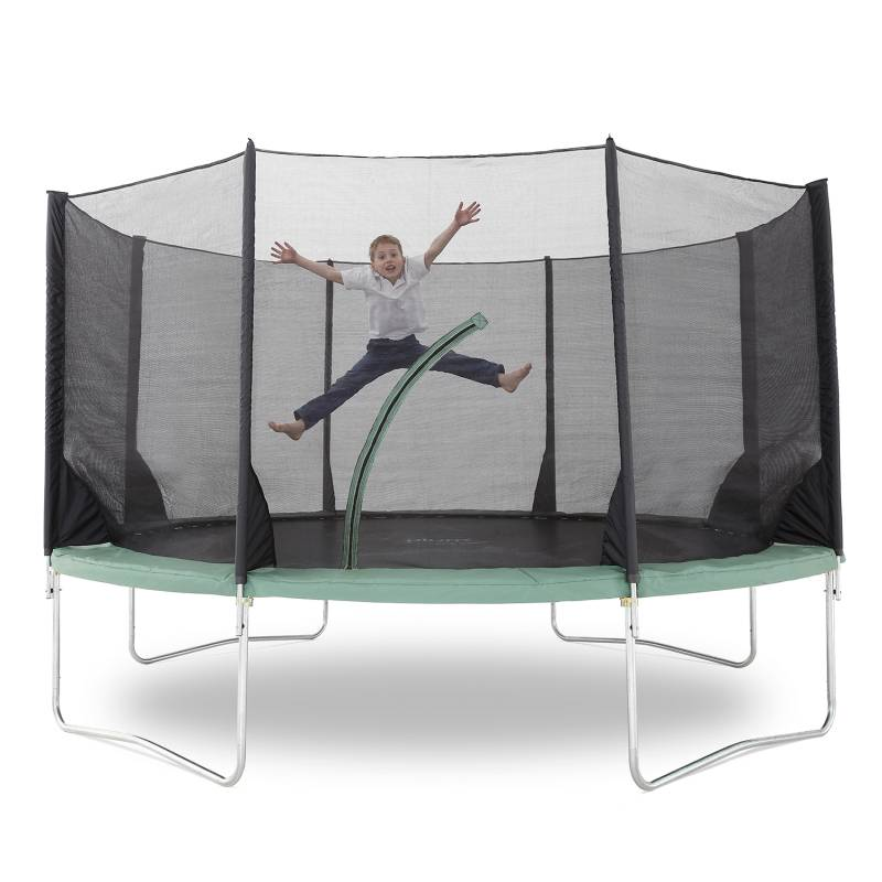 Trampoline Parts Plum: Plum Space Zone 14ft Kids Trampoline With Enclosure