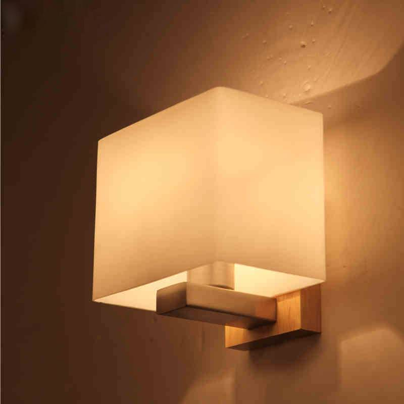 Contemporary akili white and timber cube wall light buy wall lights contemporary akili white and timber cube wall light aloadofball Images
