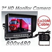 7in Monitor & Reversing Camera w/ 4 Pin Connecter