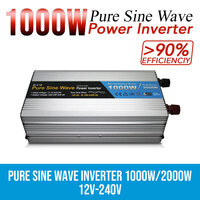 Pure Sine Wave Power Inverter 1000W/2000W 12V-240V