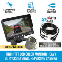 7 Inch HD Monitor & CCD Eyeball Reversing Camera