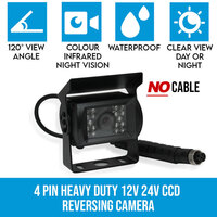 Heavy Duty Colour 4PIN Car Caravan Reversing Camera