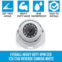 Heavy Duty CCD Reversing Camera w/ 4 PIN Connection
