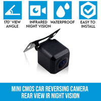 Mini CMOS Rear View Reversing Camera w Night Vision