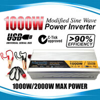 Modified Sine Wave USB Power Inverter 1000W-2000W