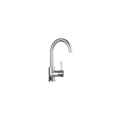 Gooseneck Kitchen Mixer Tap in Chrome 320mm