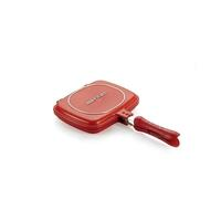 Happycall Double Pan Mini w/ Non-Stick Coating Red