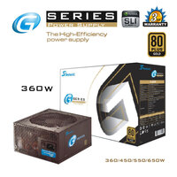 Seasonic G Series 360W Power Supply 80Plus