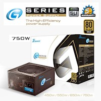 Seasonic G Series 750W Power Supply 80Plus