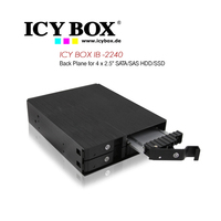 Icy Box Back Plane For 4x2.5 Inch SATA/Sas HDD/SSD