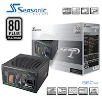 Seasonic 80Plus Platinum Series 660W Power Supply