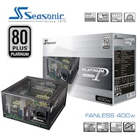Seasonic 80Plus Platinum Series Fanless 400W PSU