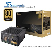Seasonic X-Series 750W 80Plus Gold V3 Power Supply