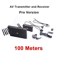 PHPC 5G WHDI Wireless Pro 100 AV Transmitter and Receiver 100 meters, Pro AV version AV510W3