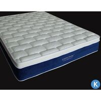 King Memory Foam Euro Top Pocket Spring Mattress