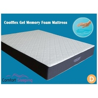 Double Size Deluxe Cool Gel Memory Foam Mattress