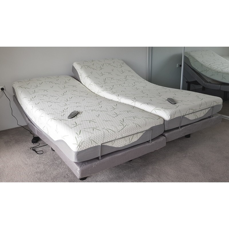 Comfortposture Split King Electric Adjustable Bed With