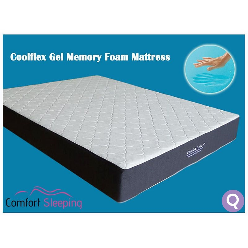 Queen Size Deluxe Cool Gel Memory Foam Mattress Buy Queen Mattress