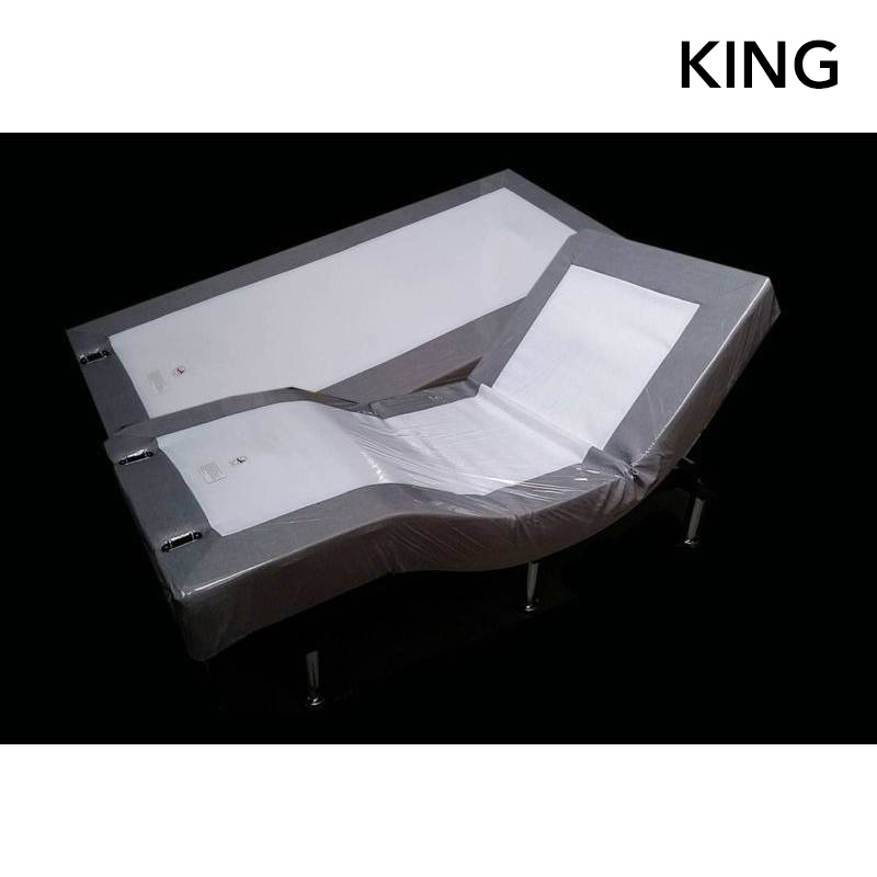 King Electric Bed Frame With Wall Hugger Split Buy King