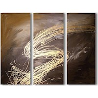 3 Canvas Abstract Painting #239