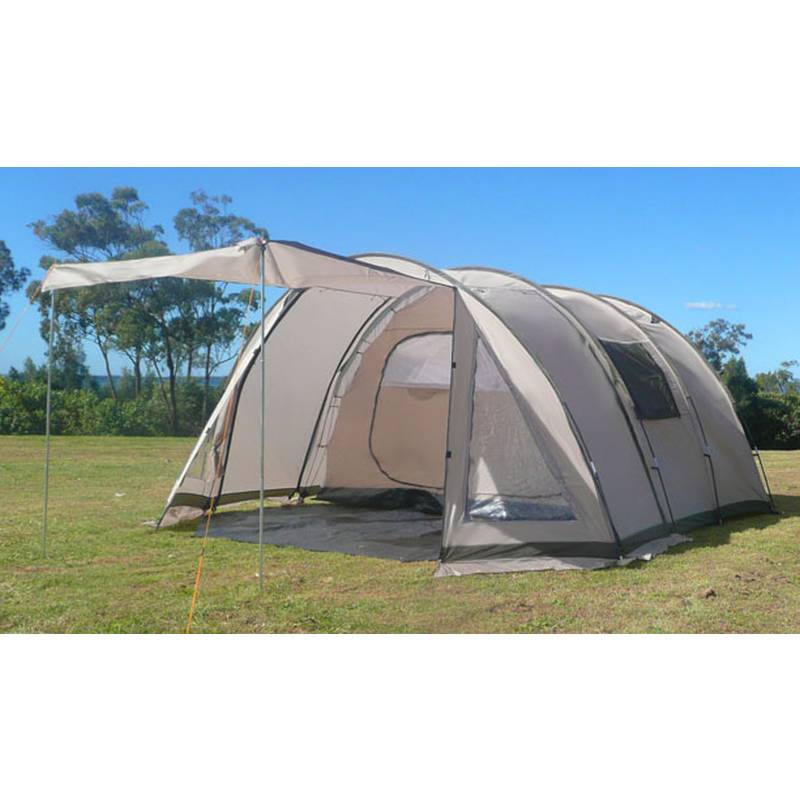 h m s Remaining  sc 1 st  MyDeal & Great Bear 6 Man Hoop Tent with 2 Rooms u0026 Awning | Buy Tents