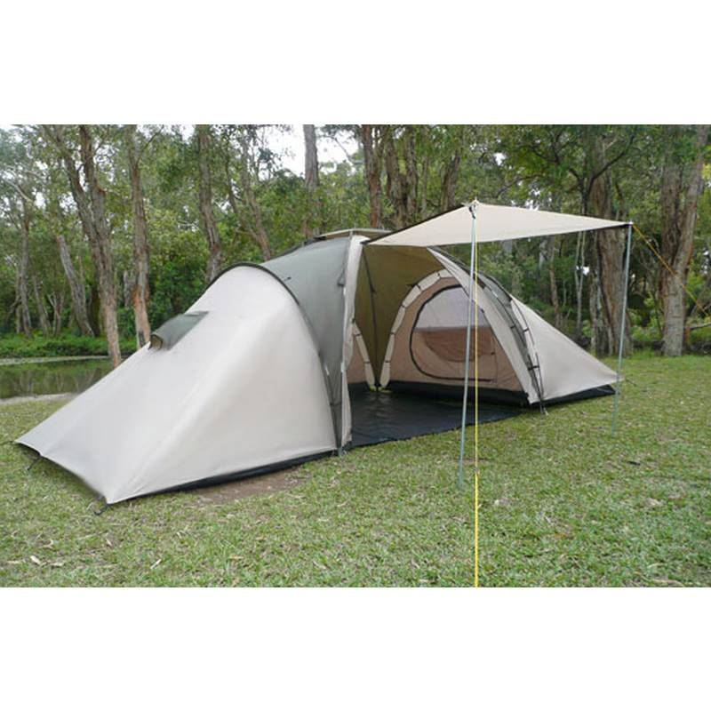 6 Man Family Camping Dome Tent W 4 Rooms Amp Awning Buy