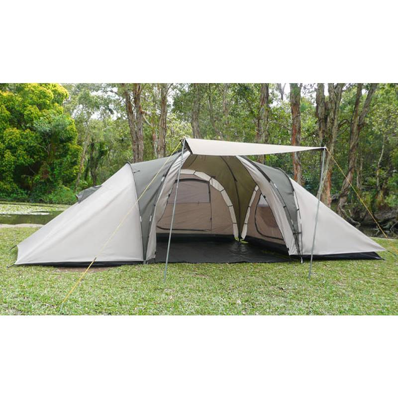 6 man family camping dome tent w 4 rooms awning buy tents