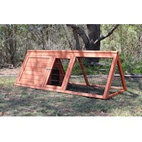Aspen Triangle Hutch for Rabbits or Guinea Pigs