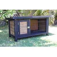 Brunswick Single Storey Hutch Rabbits & Guinea Pigs