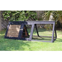 Brunswick Triangle Hutch For Rabbits Or Guinea Pigs